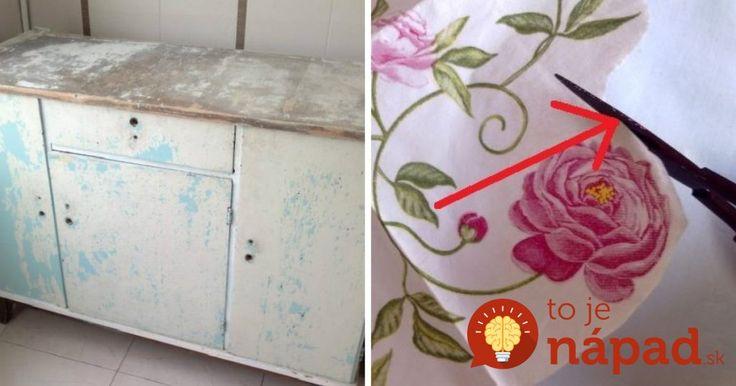 Ušetríte a výsledok je úžasný: Táto žena vám ukáže geniálne jednoduchý tip, ako premeniť starý nábytok na nepoznanie!