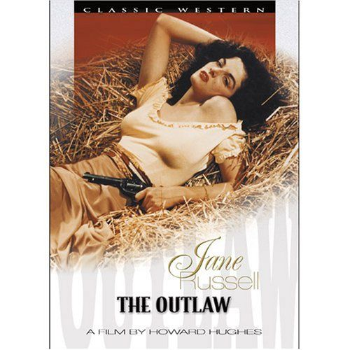 Directed by Howard Hughes, Howard Hawks.  With Jack Buetel, Thomas Mitchell, Jane Russell, Walter Huston. Western legends Pat Garrett, Doc Holliday and Billy the Kid are played against each other over the law and the attentions of vivacious country vixen Rio McDonald.