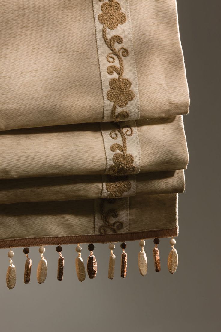 Ethan allen window treatments - Tape Trim And Beaded Edge Roman Shade Contact Nikki At Ethan Allen Corona Ca For Your Complimentary Window Treatment Consultation