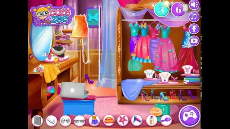 ♥ Disney Frozen Games Dressup Elsa Frozen Makeover Frozen Game Video ♥