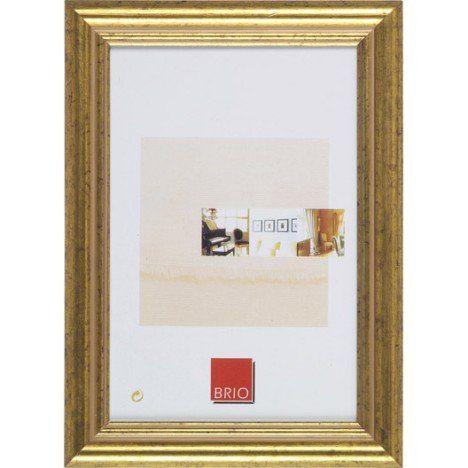 Photobooth - Cadre bois INSPIRE Circée, 50 x 70 cm, doré