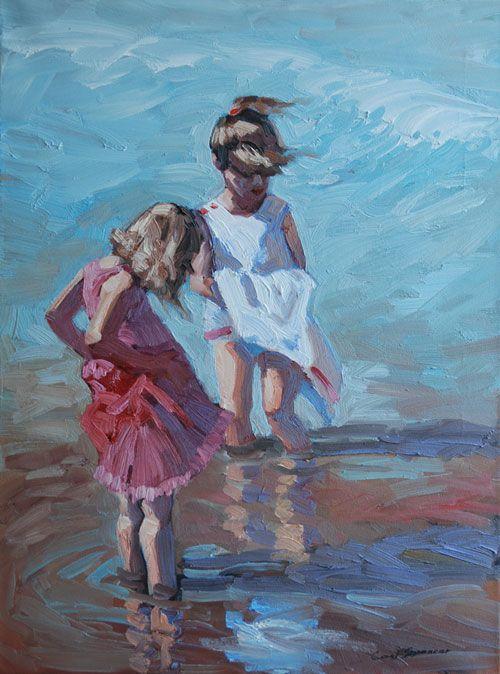 Wet hems - Coral Spencer
