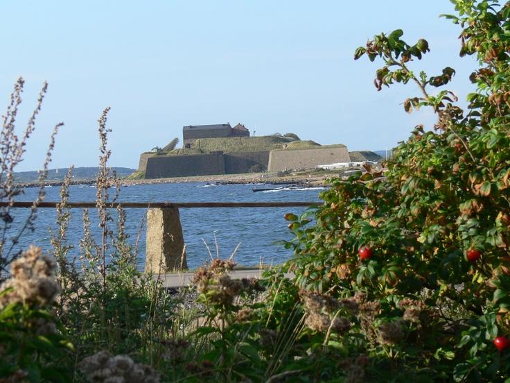 Festung in Varberg Schweden