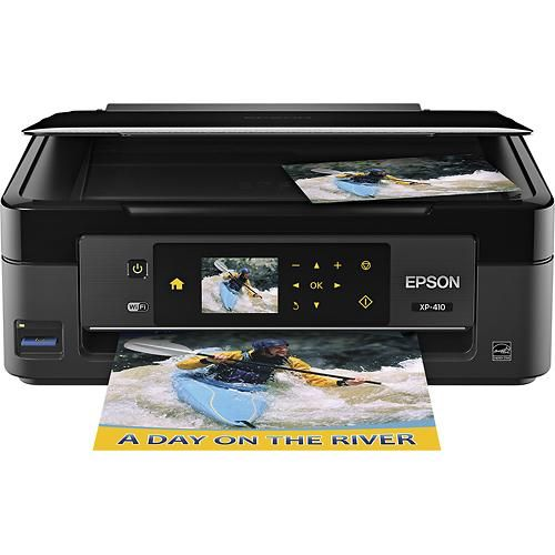 Epson - Expression Home XP-410 Small-in-One Wireless All-In-One Printer - Larger Front