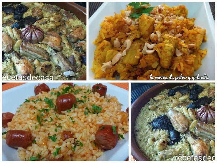 Tres sencillos y rápidos platos de arroz
