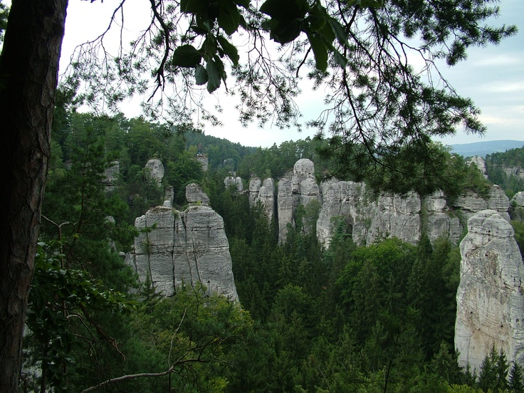 Hrubá skála, Czech
