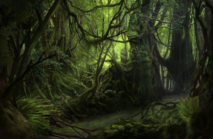 La Selva - Jungle Paint by Solfour.deviantart.com on @DeviantArt