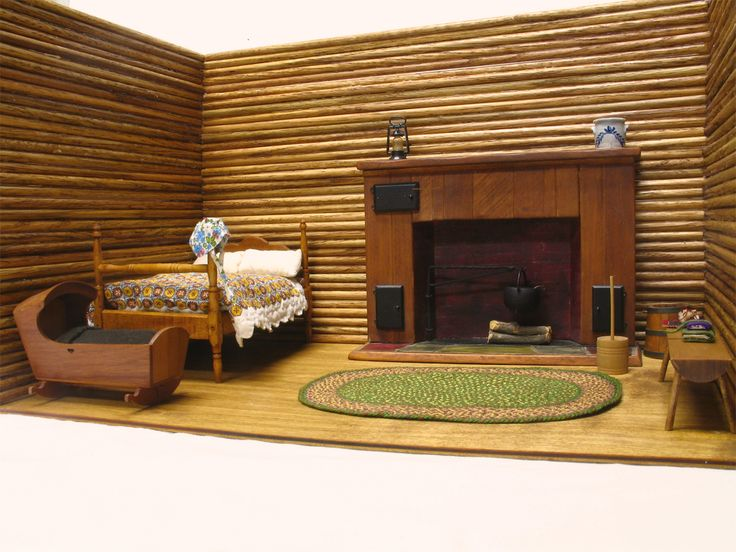 Little House On The Prairie Mini Scene