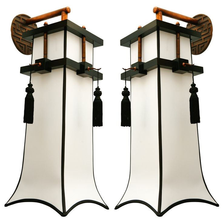 Modern Copper Wall Sconces : Large and Impressive Chinoiserie Wall Sconces Copper, Design and Modern wall