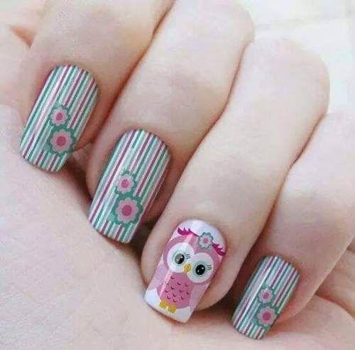 uñas decoradas - Buscar con Google