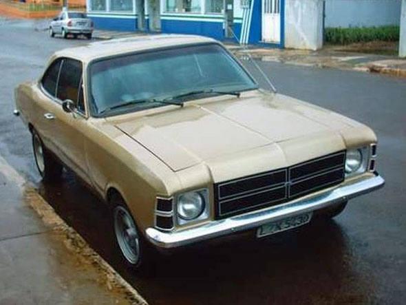 O Opala, primeiro automóvel de passeio feito pela General Motors no Brasil, foi fabricado de 1968 até 1992