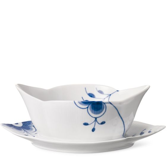 Royal Copenhagen Blue Fluted Mega Sauce boat