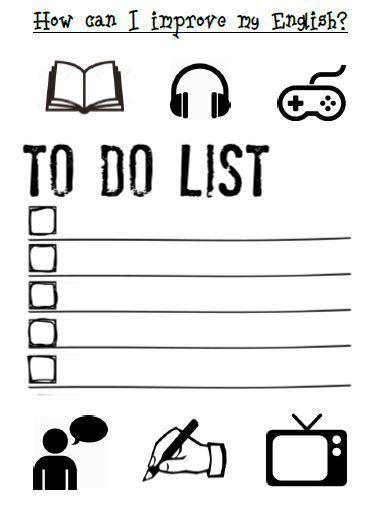 English Learning Goals