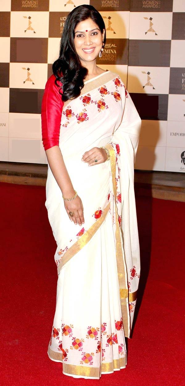 Sakshi Tanwar at women's awards #Bollywood #Fashion