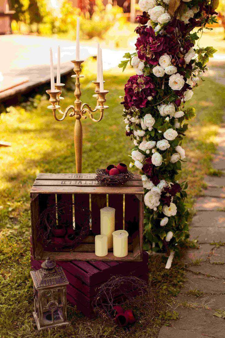 wedding arch, wedding, ceremony wedding, decor, rustic, wedding flowers, candle, lights, свечи, ящики, рустик, марсала, канделябры, оформление свадьбы, свадебная флористика
