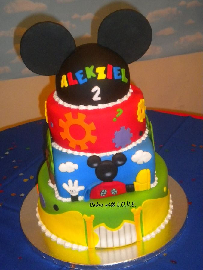 Mickey Mouse Clubhouse — Children's Birthday Cakes