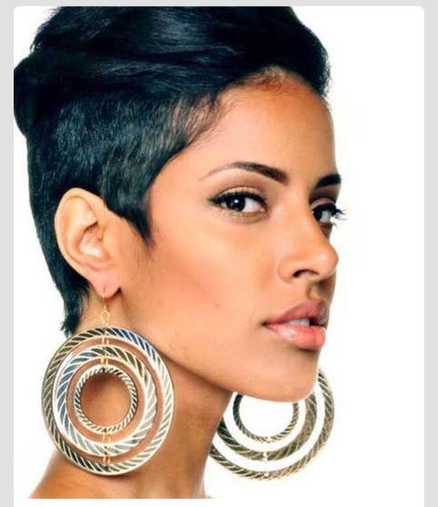 African American short hair!