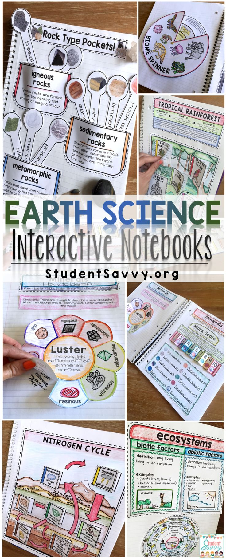 Earth Science - Interactive Notebook Bundle