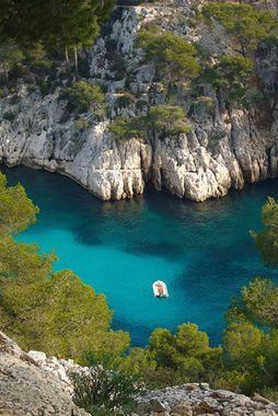 Cassis, France!!! Another favorite! I bathed topless, French style, here at the calanques