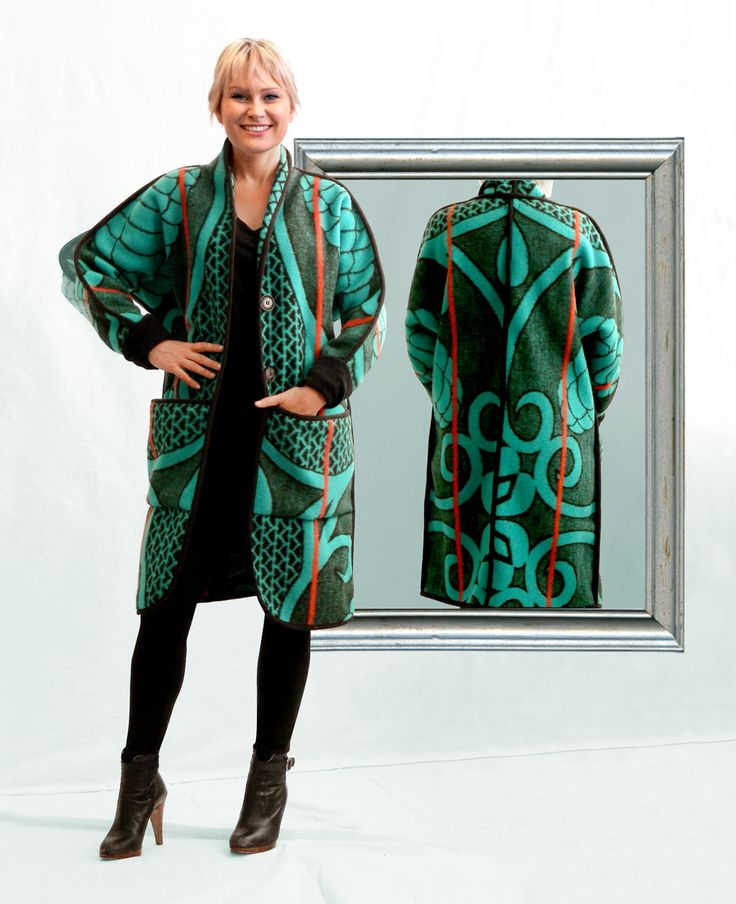 Blanket coats made from Traditional Lesotho blankets.  WEISS Cape Town in South Africa