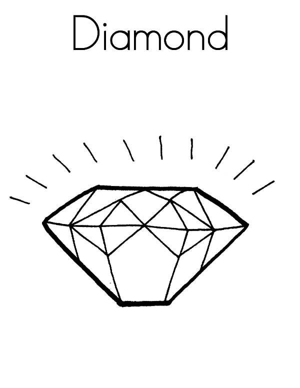 Diamond Shape D For Diamond Shape Coloring Pages Shape Coloring Pages Coloring Pages Diamond Shapes