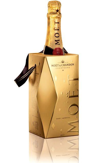 Colección 'Pointe de Diamant' de Moët  Chandon #packaging