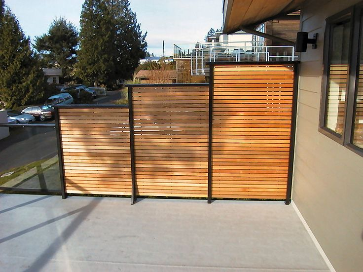 15 best outdoor images on pinterest privacy fences for Metal privacy screens for decks