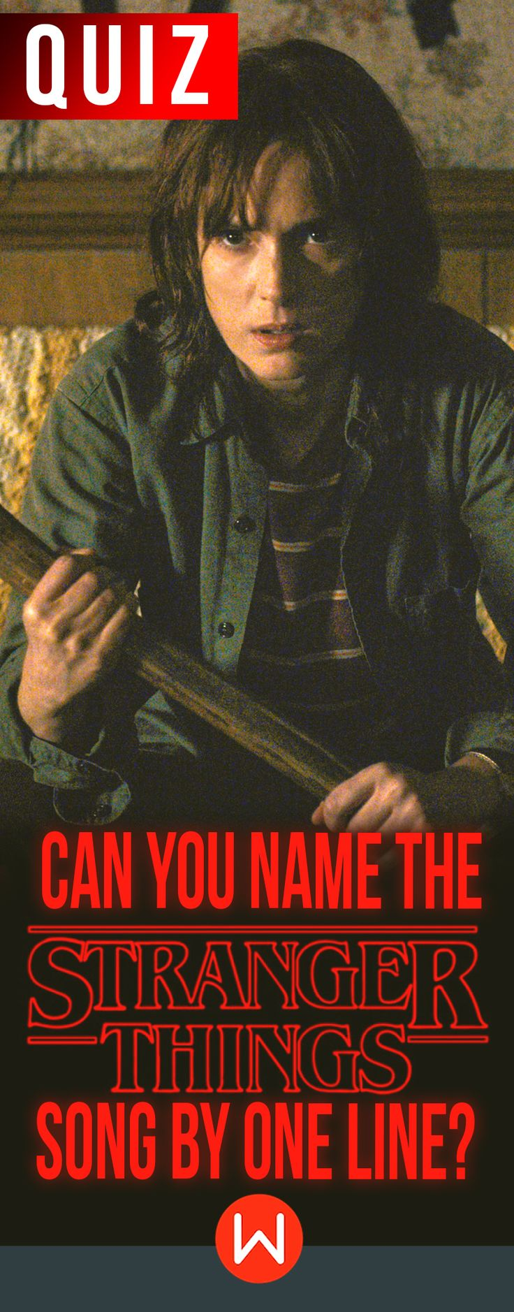 Quiz: Can you name every Stranger Things Song? How well do you remember these 80s tunes played throughout the hit first season? Stranger Things soundtrack quiz. Stranger Things music test. Stranger Things songs quiz, Stranger Things quiz, Stranger Things best qongs, playbuzz quizzes, buzzfeed quizzes, Stranger Things trivia questions.