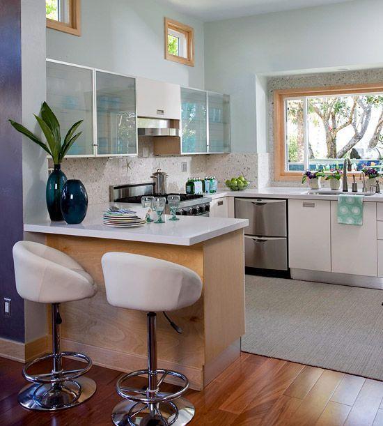 Organizar la cocina 2 como organizar cocinas modernas for Como organizar espacios pequenos