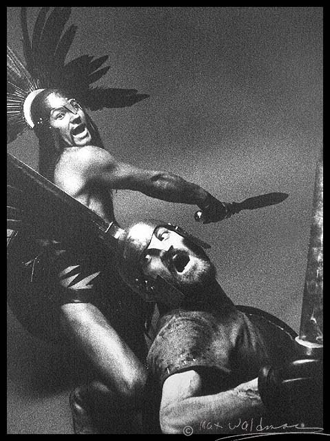 Patrick Stewart and Ian Hogg in Trevor Nunn's production of Coriolanus (1972)