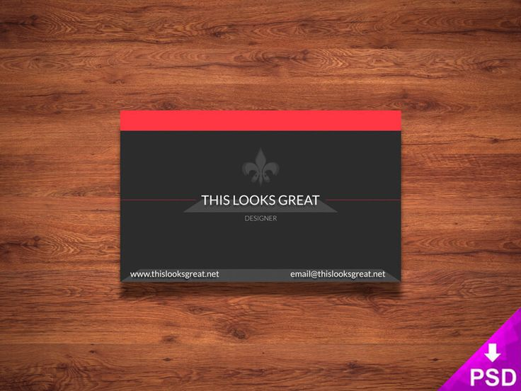 20 best PSD Card Templates images on Pinterest Brand identity - id card psd template
