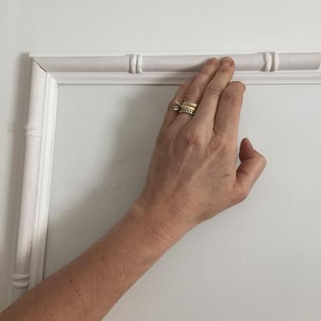 DIY: Faux Bamboo Moulding