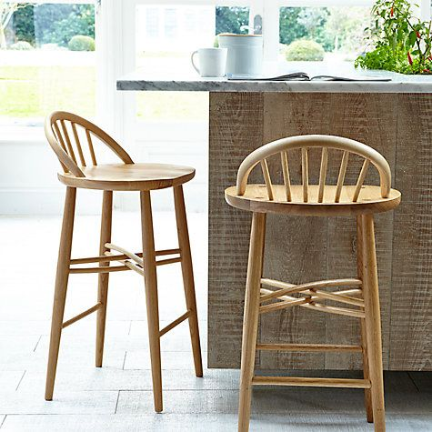 Buy ercol for John Lewis Shalstone Bar Stool Online at johnlewis.com