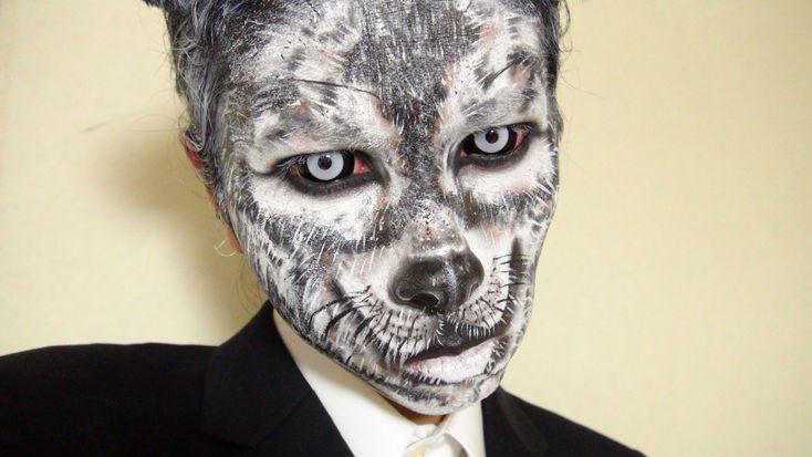 - Gray Wolf - Makeup2 by KisaMake on deviantART