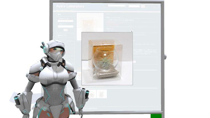 Advertising 宣伝モード^^ デスクトッププランツ エア with Glass https://step.cx/archives/001228.html