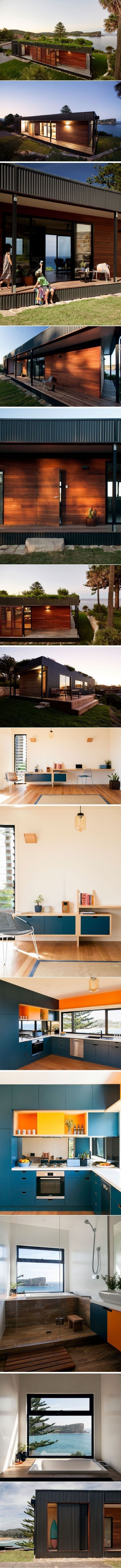 Container House - This prefab house with a lush green roof was built in six weeks   CONTEMPORIST - Who Else Wants Simple Step-By-Step Plans To Design And Build A Container Home From Scratch?