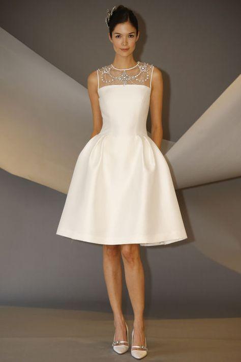 10 Short Wedding Dresses From Carolina Herrera's Latest Collection