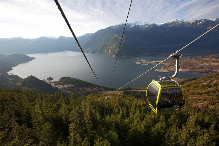 Go Here: Squamish, BC's Sea to Sky Gondola