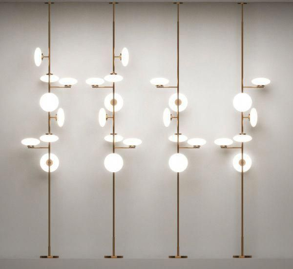 Mamì Is A Floor Ceiling Lamp Designed