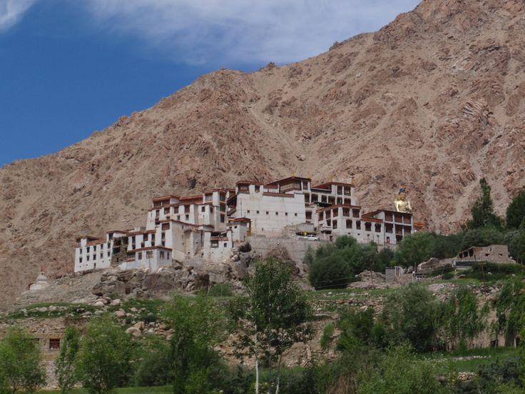 Tibetan Monastery in Himalayas