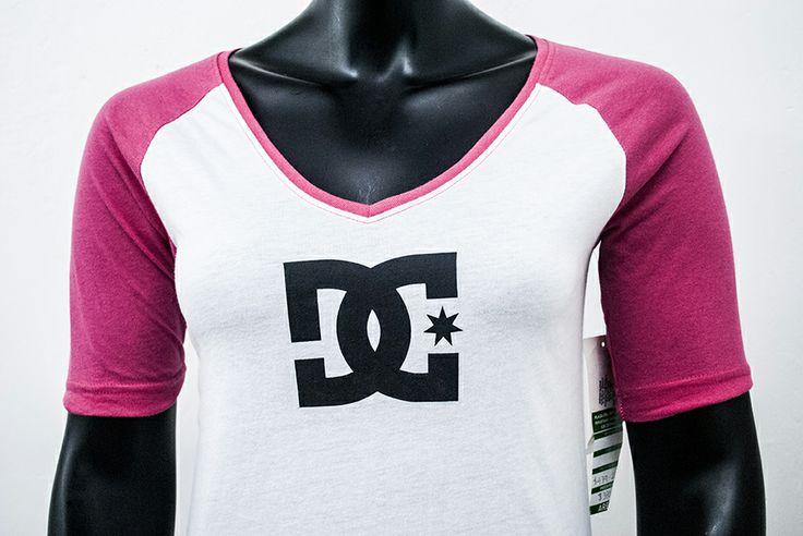 Blusa DC rosa