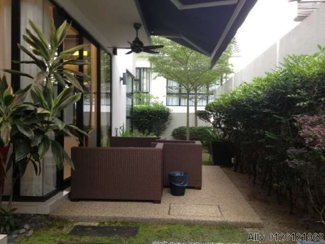 Semi detached house for sale in twin palms twinpalms for Backyard design ideas malaysia