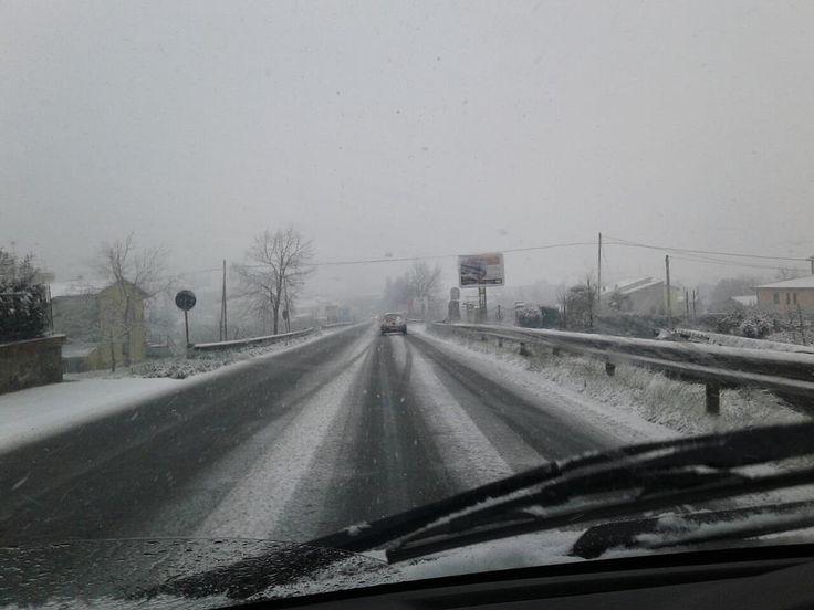 Neve in Ciociaria   http://www.parisnews.it/leggiCronaca.php?id=439