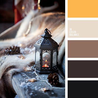 бежевый, желтый, коричневый, оттенки коричневого, пастельный желтый, Рождественская палитра, светло-коричневый, серо-коричневый, серый, темно-коричневый, цвета Нового года, цветовое решение для Нового года.