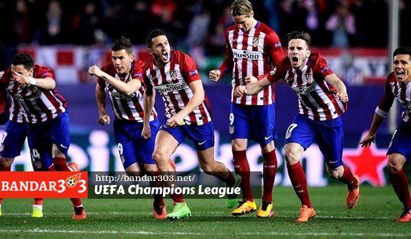 Kejuaraan sepakbola antar klub paling bergengsi di Benua Eropa UEFA Champions League musim 2015/16 malam tadi telah menyelesaikan putaran 16 besar dan meloloskan delapan klub terbaik yang akan memperebutkan trophy klub terbaik Eropa dengan menggunakan sistem gugur home dan away.