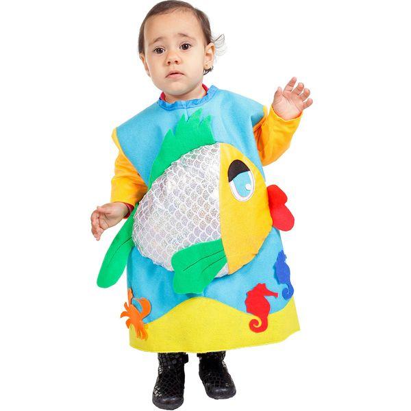 como hacer disfraz de pez para nios imagui