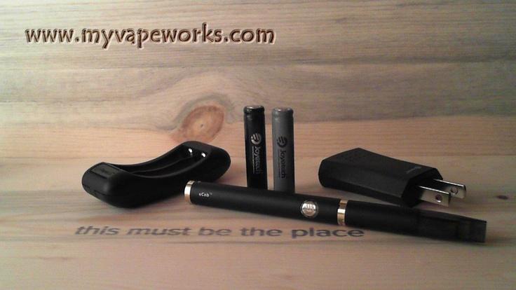 eCab, Electric Cigarette Starter kit. www.myvapeworks.com