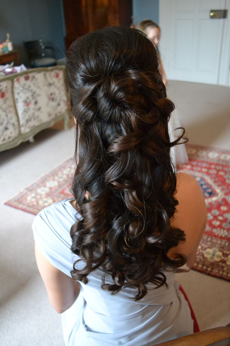 ... 12> Images For - Curly Half Up Half Down Prom Hairstyles Back View