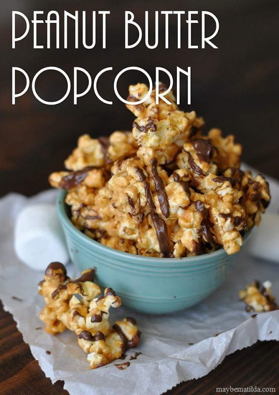 This delicious movie night snack is sure to become one of your favorites. Enjoy Chocolate Drizzled Peanut Butter Popcorn with Big Hero 6 from Target.
