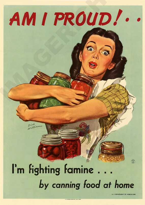 "World War II Poster   ""Am I Proud  I'm Fighting Famine"" printed by Imagerich…"